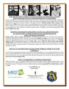 Broward County PBA Flyer - Heart Fund