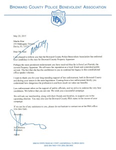 Martin Kiar Endorsement Letter