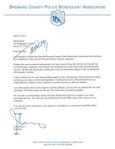 Martin Kiar Endorsement Letter